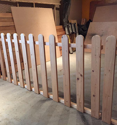 Portails et clôtures en bois par EIRL Meirland